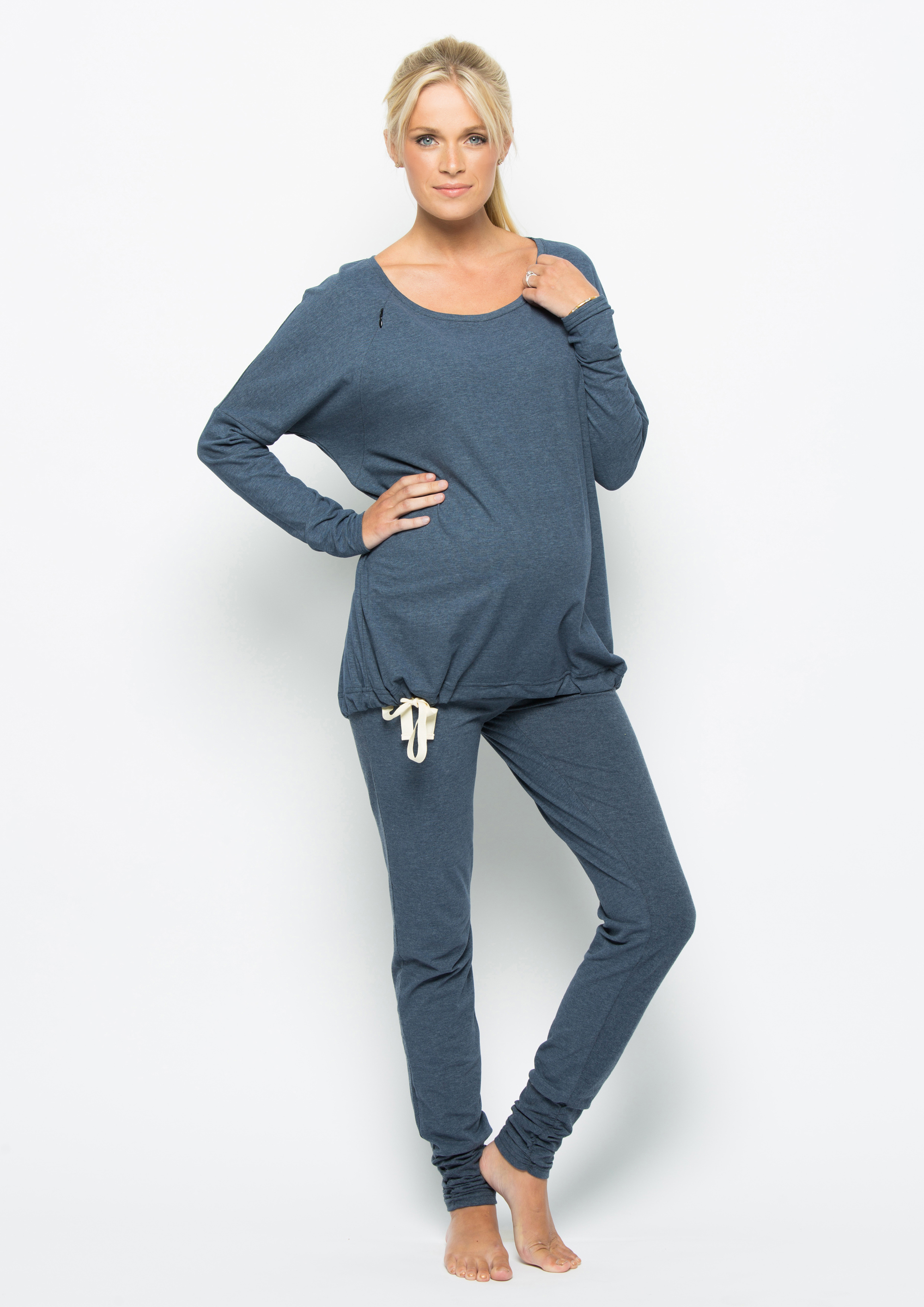 loungewear set | denim