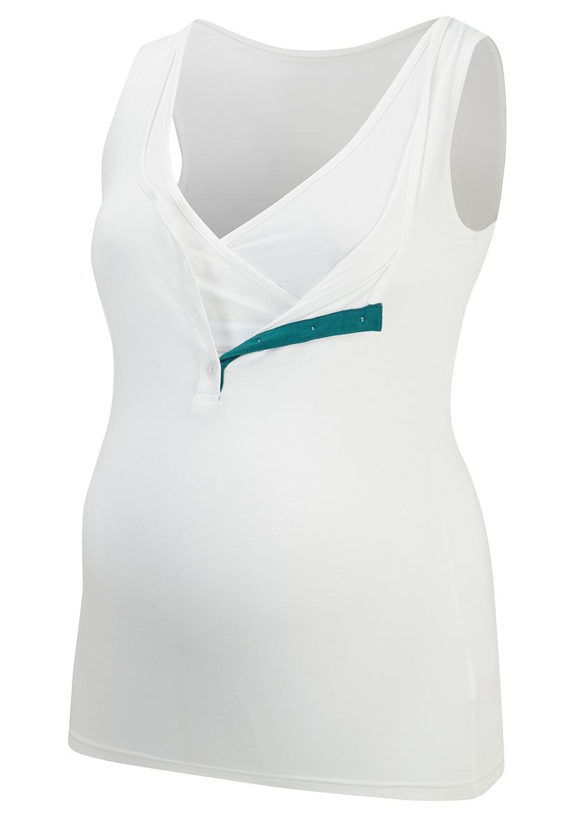 019-V36-32 | nursing vest open | cloud emerald