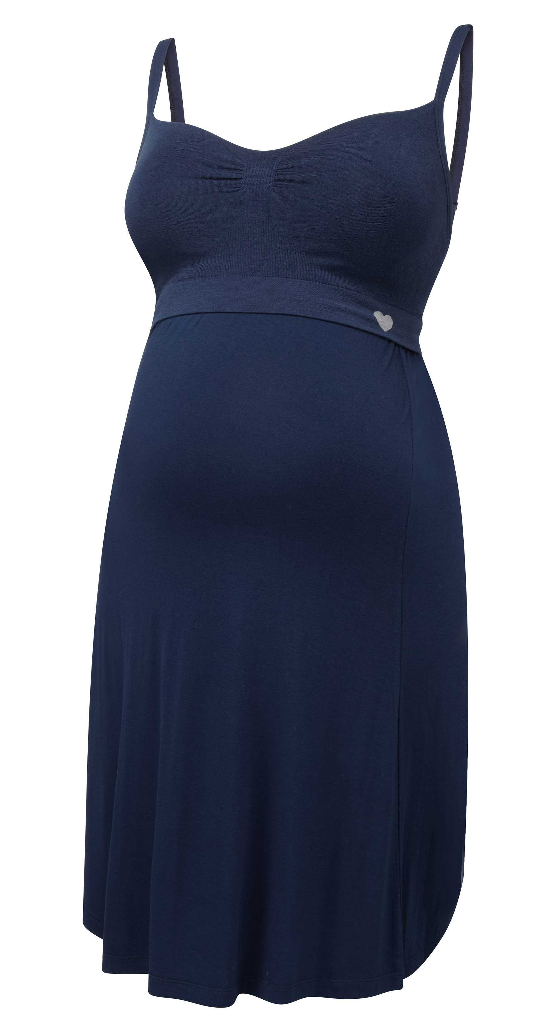 027-N40-06 | seamless nightie | navy